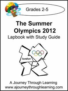 Summer Olympics 2012 lapbook from Journey Through Learning - available right now for $ 3.  (Got mine free from an earlier promotion, but $ 3 isn't bad!)