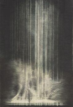Christine Ödlund Röststudie, 2013 Watercolour and graphite on paper 139 x 93 cm