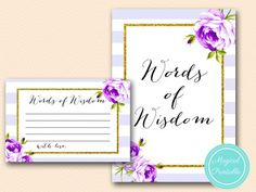 BS411-words-of-wisdom-card-purple-lavender-bridal-shower-game