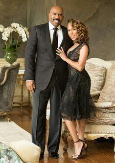 Steve and Marjorie Harvey