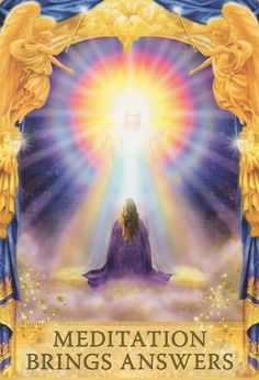 the solutions you seek can only be found by going within, through meditation or inner spiritual work... (keep reading: http://www.freeangelcardreadingsonline.com/2015/angel-answers-oracle-cards-meditation-brings-answers/)