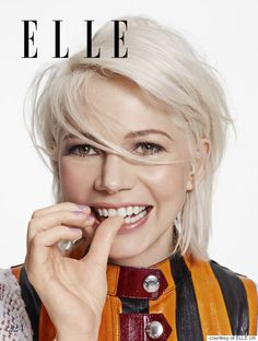 Damn, Michelle Williams Looks GOOD On The April Cover Of Elle UK
