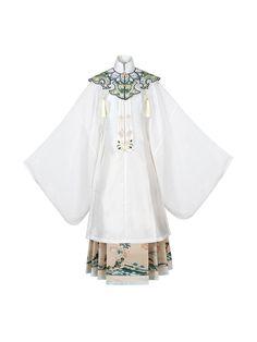 Hanfu, Traditional Fashion, Traditional Dresses, Chinese Clothing, Chinese Dresses, China Fashion, Aliexpress, Kimono Fashion, Costume Design