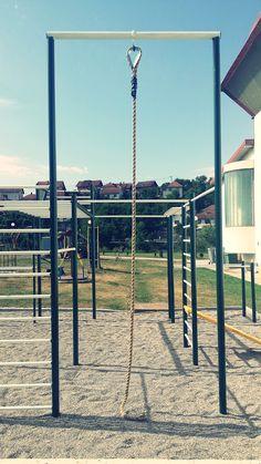 Street Workout Park Visegrad ( Republic of Serbs; Backyard Water Parks, Backyard Fort, Backyard House, Backyard Playground, Workout Stations, Bar Workout, Street Workout, Workout Ideas, Outdoor Gym