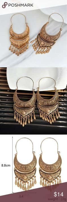 Tribal earrings Ancient Gold Color Tibetan Earring Boho Dangle Charm Statement Silver Color Gypsy Jewelry brincos Brand New  🛍BUNDLE & SAVE 15%🛍 ✨TOP RATED SELLER✨ 📦SAME DAY OR NEXT DAY SHIPPING!📦 ❤REASONABLE OFFERS WELCOME❤ ❌NO TRADES NO PAYPAL ❌ Jewelry Earrings
