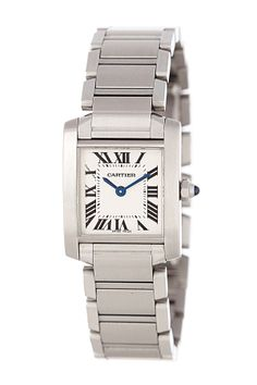 Vintage Cartier Women's Tank Francaise Stainless Steel Watch