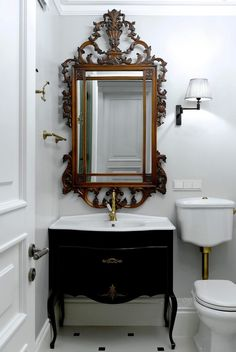 Adorable Powder Room Ideas (modern, small, and decorating ideas) Powder Room Ideas. You've pertained to the best area if you are looking for modern… Powder Room Small, Cheap Home Decor, Dresser Decor, Simple House, Powder Room, Cheap Living Rooms, Tile Remodel, Powder Room Signs, Powder Room Ideas Elegant