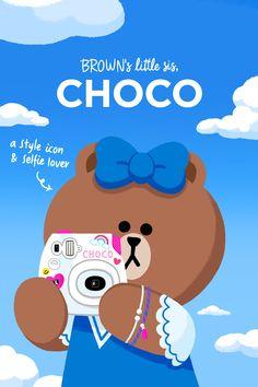 임시 이미지 Line Cony, Lines Wallpaper, Cute Love Pictures, Brown Line, Bunny And Bear, Friends Wallpaper, Line Illustration, Illustrations, Character Wallpaper