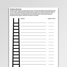 Anxiety worksheets and exercises for treating generalized anxiety disorder, panic, phobia, social, and health anxiety. CBT resources for professionals. Self Esteem Worksheets, Cbt Worksheets, Counseling Worksheets, Therapy Worksheets, Printable Worksheets, Group Therapy Activities, Preschool Activities, Assertive Communication, Psicologia