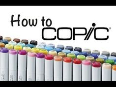 COPICS FOR BEGINNERS - PART 1 of 5 - Video #078 - YouTube