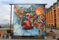 Big Walls by El Decertor, Elliot Tupac - Santiago (Chile)