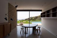 Richard Neutra Singleton Residence interior interior dining area