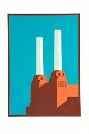 Thats Not My Age: This weeks most wanted: Paul Catheralls London Prints Thats Not My Age, Battersea Power Station, Growing Up, Graphic Design, London, Illustration, Prints, Inspiration, Art