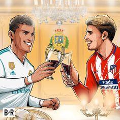 Real Madrid & Atletico Madrid. 2018