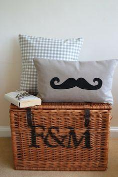Kanelstrand Vie simple: Week-end de bricolage: Moustaches