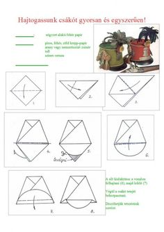 huszárok 88 - Klára Balassáné - Picasa Webalbumok Paper Design, Handicraft, Art For Kids, Origami, Diy And Crafts, Spring, Pattern, Max 2015, Kindergarten