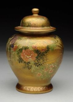 Buy online, view images and see past prices for Japanese Satsuma Tea Caddy. Invaluable is the world's largest marketplace for art, antiques, and collectibles. Japanese Tea Set, Japanese Bowls, Vintage Japanese, Japanese Art, Japanese Culture, Japanese Porcelain, Japanese Pottery, Fine Porcelain, Silver Tea Set