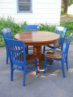 refurbished dining table chalk paint heir and space pair of chairs before after refurbished dining tables wood 23 best dining tables images on pinterest rooms