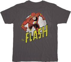 The Flash Run Flash Run Charcoal T-shirt