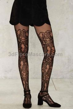 Grapevine Floral Tights #pantyhose #sexy #ladies #women #ladyproducts #lush #smooth #fashion #stunning #legs #glamour