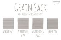 Miss Mustard Seed's Milk Paint Colors & Finishes - The Golden Sycamore Milk Paint Furniture, Painted Furniture, Furniture Refinishing, Distressed Furniture, Furniture Redo, Furniture Ideas, Furniture Design, Chalk Paint Colors, Annie Sloan Chalk Paint