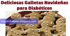Prepara una deliciosas galletas de hombre de jengibre especiales para diabéticos #recetas #Diabetes