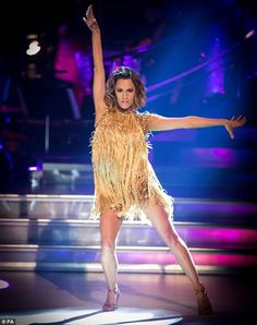 Strictly Come Dancing's Caroline Flack dazzles the judges #dailymail
