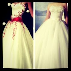 Sweet Sixteen dresses top 2! I'm in love with the red one