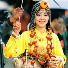 Tibetan Fashion Show at Khampa Arts Festival