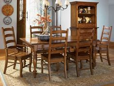 Image result for early american dining room sets