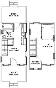 12x20 Tiny Houses 6 Winsome Inspiration 12 X 20 Home Floor Plans House Layout