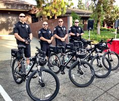 Member of the Arcadia PD Bike Team at the 2013 Community Bike Ride. #police #lawenforcement