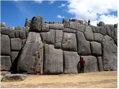 Megalithic Construction in South America. According to Graham Hancock, archaeologist, one of those stones is 29 feet high and weighs more than 360 tons; the equivalent of 500 passenger automobiles. That stone is not even at the base of the wall. Yet, the quarry from which the granite blocks were cut was more than 10 miles away.