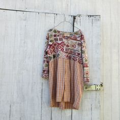 upcycled clothes | medium - xxlarge - Upcycled Clothing / Day Dress / Unique Clothing ...