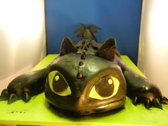 How To Train Your Dragon Toothless Cake by NYOC
