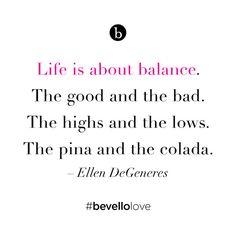 Ellen DeGeneres #bevellolove
