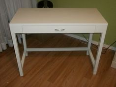 desk with leg supports, no hutch | Do It Yourself Home Projects from Ana White