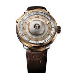 Fabergé Visionnaire DTZ 18 Karat Rose Gold #Fabergé #watches