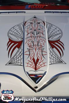 Love pinstriping, love webs, love web pinstriping!
