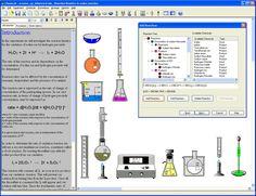 ChemLab - An interactive chemistry lab simulation for Windows Chemistry Labs, Organic Chemistry, New Computer Technology, Curriculum, Software, Classroom, Teaching, School, Alternative