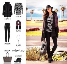 Rise and shine in your cozy outfit!!! celestino.gr