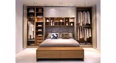 Give your space-challenged private oasis a huge lift. Check out these small master bedroom furniture ideas. Small Bedroom Storage, Small Bedroom Furniture, Small Master Bedroom, Wardrobe Furniture, Small Bedroom Wardrobe, Small Storage, Romantic Master Bedroom, Warm Bedroom, Single Bedroom