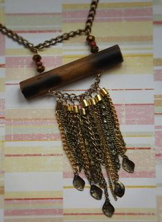 Autumn Upcycles: Chain Necklace