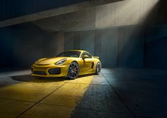 Porsche reveals the new Rebel Cayman GT4.Worldwide Advertising, Print and Web.