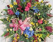 Beautiful XXL Spring or Summer Wreath $169.97