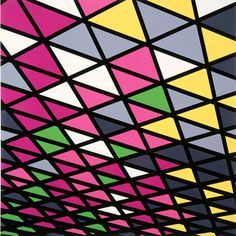 Sarah Morris Neon Rod Stewart Las Vegas Painting Geometric Art