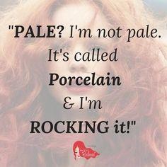 We rock. #RockitlikeaRedhead #Redhead