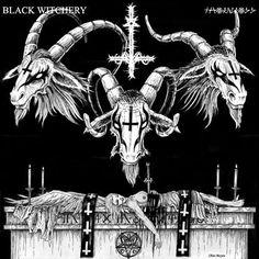 portada de la banda de black metal black witchery una de las mejores ideas de chris moyen un artista en verdad