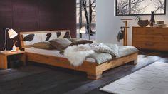 Modell Cadro 7.62, Serie: ITW Oak Line Wild Eiche Rustikal, Kopfteil Bett