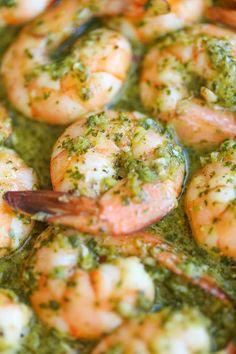 Easy 20-Minute Chimichurri Shrimp